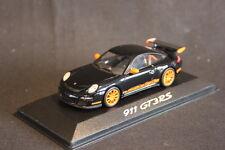 Minichamps (DV) Porsche 911 GT3 RS 1:43 Black / Orange (HB)