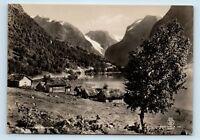 LOENVANN, NORDFJORD, NORWAY - ENERETT 1900s NORGE STOR RPPC - ANTIKK FOTO - L2