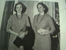 1961 picture fashion parade leicester mrs j barry miss g e lee