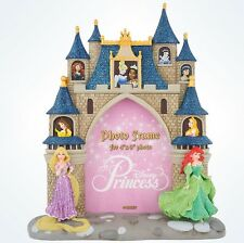 Disney Parks Princess Glitter Resin Picture Photo Frame 4x6 New