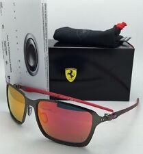 OAKLEY Sunglasses Scuderia FERRARI Edition TINCAN CARBON OO6017-07 Gunmetal-Red