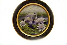 Pickard China Collector Plate Lockhart 1980 Trumpeter Swan 1485/2000