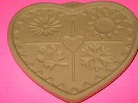 PAMPERED CHEF - SEASONS OF THE HEART - 1997 - COOKIE CUTTER - NEW