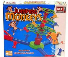 Jumping Monkeys Traditional Games Family Fun Kids Toy Catapults Mokey To Tree