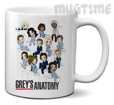 Grey's Anatomy - Doctors Medicine - Drawing Characters TV Novelty Mug Cup 11oz