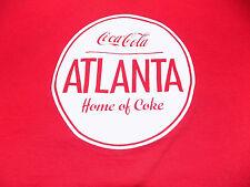 Coca Cola Atlanta Licensed T Shirt Size Small Red