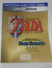ZELDA Nintendo Power LINK TO THE PAST + FOUR SWORDS Strategy Guide GBA w/ Poster