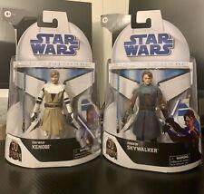 Clone Wars Obi Wan and Anakin Skywalker Black Series