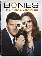 Bones: Season 12 - 3 DISC SET (2017, DVD New)