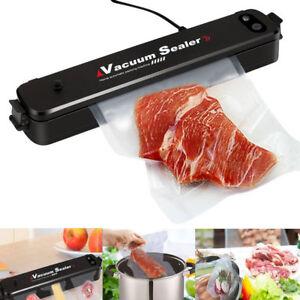 Food Vacuum Sealer Machine Sous Vide Packing Bag Roll Kitchen Storage + 15 Bags