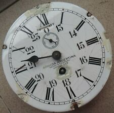 Heath & Company Military Ship Clock movement & dial 18 cm. in diameter