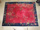 Art deco Chinese rug 9x12