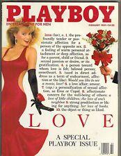 MICHELLE SMITH LOVE Playboy Magazine 2/89 Simone Eden