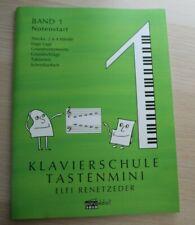 Klavierschule Tastenmini von Elfi Renetzeder neu und vollständig
