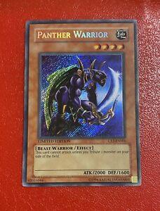 Yu-Gi-Oh! TCG Panther Warrior CT2-EN006 Secret Rare Limited Edition Card LP