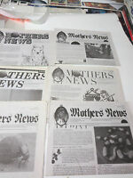 Mothers News # 27 Newspaper  6 issues