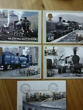 GB 2012 CLASSIC LOCOMOTIVES OF SCOTLAND PHQ 361 FDI FRONT PICTORIAL HANDSTAMPS