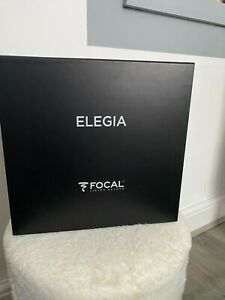 Focal ELEGIA Audiophile Circum-Aural Closed-Back Over-Ear Headphones HI-END