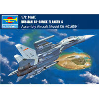 Trumpeter 01659 1/72 Russian Su-30MKK Flanker G Fighter Plastic Aircraft Model