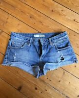 Moto Topshop Denim Shorts W28