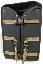 """Dakota by Tumi Large Nylon 24"""" Wheeled Rolling Garment Bag Luggage black Leather"""
