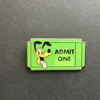 DLR - PWP Collection - Admission Ticket - Pluto Disney Pin 89847