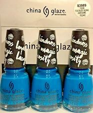 CHINA GLAZE NAIL POLISH # 83989 TOO BUSY BEING AWESOME 0.5OZ ( 3 BOTTLES)1530