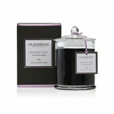 Glasshouse Fragrances FGC350MANH Manhattan Little Black Dress Scented Candle - 350g