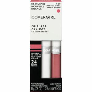 Covergirl Outlast All-Day Custom Nudes Lipcolor, 920 Medium Cool