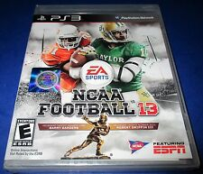 NCAA Football 13 Sony PlayStation 3 - PS3 - *Factory Sealed! *Free Shipping!