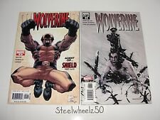 Wolverine #29 & 32 Comic Lot Marvel 2005 2nd Series Quesada Mark Millar Romita