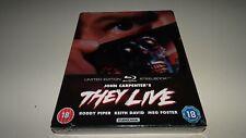 They Live (1988) Blu-ray Steelbook New & Sealed John Carpenter Roddy Piper