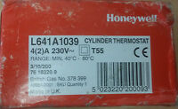 Honeywell - HOT WATER CYLINDER THERMOSTAT CENTRAL HEATING STAT - L641A - New