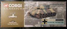 Corgi Classics Fighting Vehicles German Army King Tiger Heavy Tank 66601 1:60