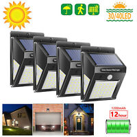 40LED Solar Power Light PIR Motion Sensor Garden Security Outdoor Yard Wall Lamp