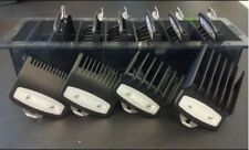 Wahl Professional Cutting Hair Clipper Combs Guards Guides Caddy Premium 8 Pack