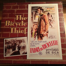 The Bicycle Thief - Italian w/eng subtitles B&W Laserdisc Id3337Co