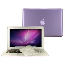 "2 in 1 Crystal PURPLE Case for Macbook AIR 11"" A1370 with TPU Keyboard Cover"