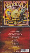 Roadfever - Wheels On Fire, rare CD, Classic Hard Rock,Krokus,Gotthard, Sideburn
