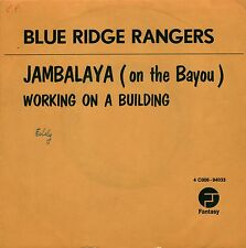 "7"" Blue Ridge Rangers (J.C.Fogerty / CCR) – Jambalaya // Belgium 1972"