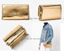 33f219ba6dd9 Michael Kors Crossbody Bag Mott Clutch Metallic Snake Embossed Leather