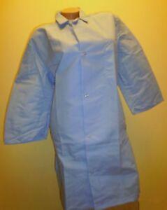 "Best Medical Woman L/S Lab Coat 1 pocket Light Blue 35"" Length Size 2X"