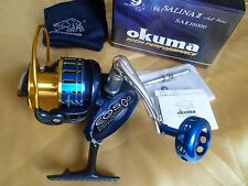 Okuma SALINA II 16000 Spinning Reel 30kg drag  Full Metal manufacture - New