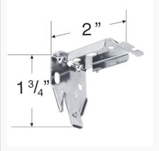 Roller Shade Pleated Shade Bracket For Use With Many Brands QUANTITY OF 3