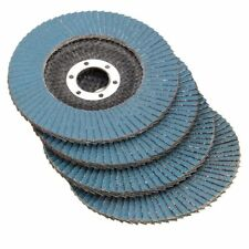115mm Flap Sanding Disc 40 60 80 120 Grit Angle Grinder Wheel