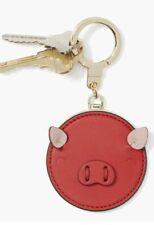 NWT Kate Spade Year of the PIG Royal Red Bag Charm Key Chain Keyfob 1KRU1004