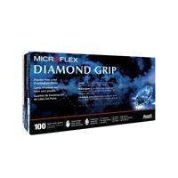 MicroFlex Diamond Grip Powder-Free Latex Examination 100 Gloves Small MF-300-S
