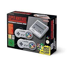 Nintendo Super Nintendo Entertainment System Classic Mini Grey Home Console