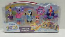 Disney Junior T.O.T.S. Friends Figure Set Pia Freddy KC Mia Beakman Tiny Ones