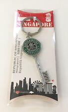 Singapore Merlion Keychain Souvenir Memorabilia Travel Gift Piece Starbucks Key